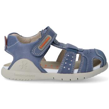 Zapatos Niños Sandalias Biomecanics 212180 SANDALIAS NIÑOS PIEL Azul