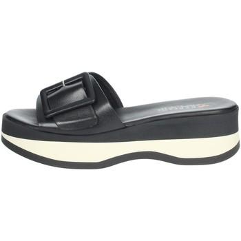 Zapatos Mujer Zuecos (Mules) Repo 62114-E1 Negro/Blanco