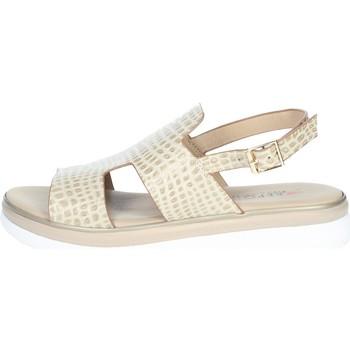Zapatos Mujer Sandalias Repo 10279-E1 Beige
