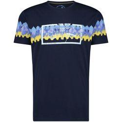 textil Hombre Camisetas manga corta A Fish Named Fred batik navy AZUL