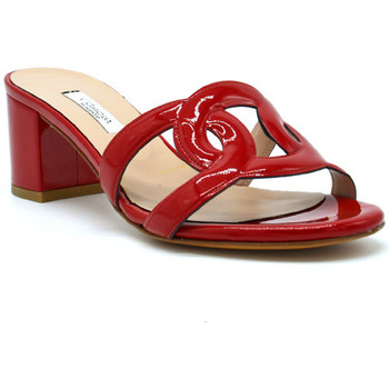 Zapatos Mujer Zuecos (Mules) L'amour 212-05 Rosso