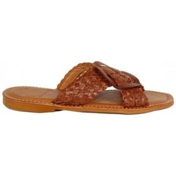 Zapatos Mujer Zuecos (Mules) Lolas SANDALIA TRENZADA Multicolor