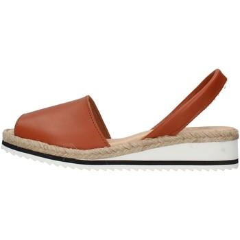 Zapatos Mujer Sandalias Ska 21CORFUNM MARRÓN
