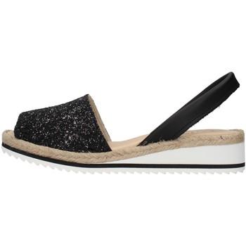 Zapatos Mujer Sandalias Ska 21CORFUGNM NEGRO