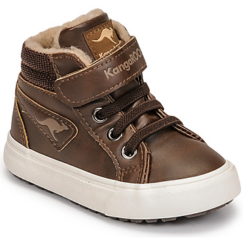 Zapatos Niño Zapatillas altas Kangaroos KAVU III Marrón