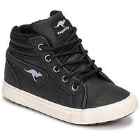 Zapatos Niño Zapatillas altas Kangaroos KAVU I Negro