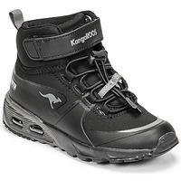 Zapatos Niño Zapatillas altas Kangaroos KX-HYDRO Negro