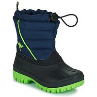 Zapatos Niño Botas de nieve Kangaroos K-BEN Azul / Verde