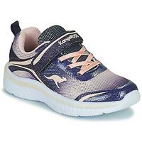 Zapatos Niña Zapatillas bajas Kangaroos K-MAID GLEAM EV Azul / Plata