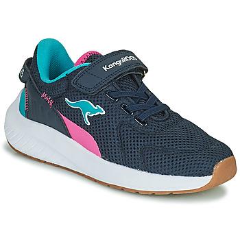 Zapatos Niña Zapatillas bajas Kangaroos K-FORT JAG EV Azul