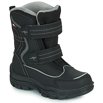 Zapatos Niños Botas de nieve Kangaroos K-LENO V RTX Negro