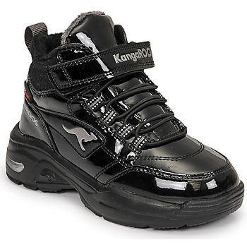 Zapatos Niña Zapatillas altas Kangaroos KC-ICY EV RTX Negro