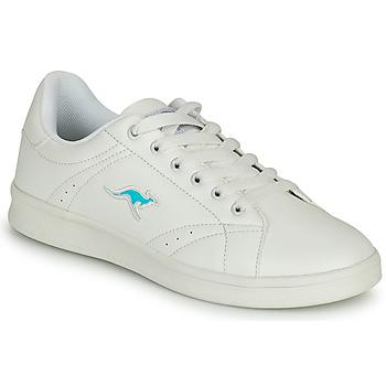 Zapatos Mujer Zapatillas bajas Kangaroos K-TEN II Blanco