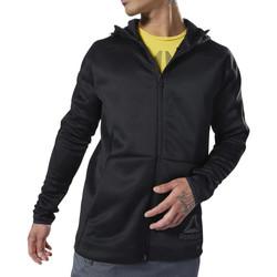 textil Hombre Chaquetas / Americana Reebok Sport  Negro