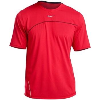 textil Hombre Camisetas manga corta Saucony SAM800214 Rojos