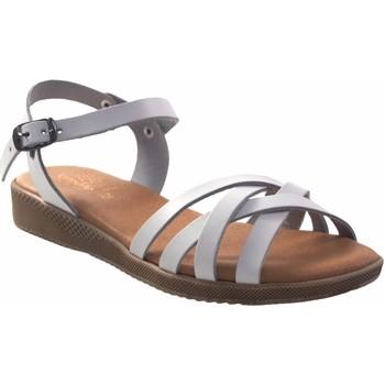Zapatos Mujer Sandalias Duendy Sandalia señora  3265 blanco Blanco