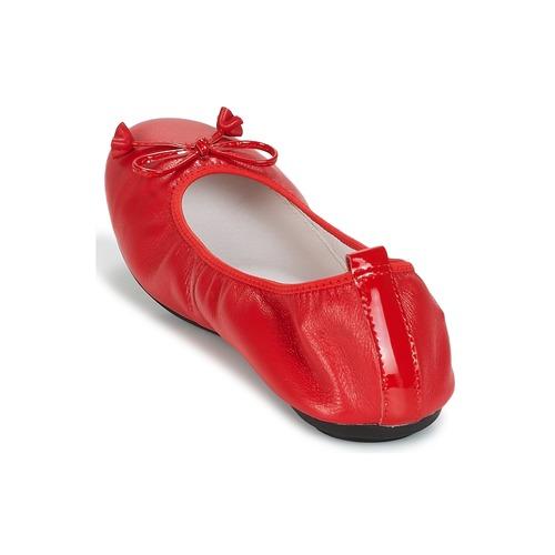 Mac Douglas manoletinas Zapatos Rojo Mujer Eliane Bailarinas m0OyN8vnw