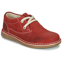 Zapatos Niños Derbie Birkenstock MEMPHIS KIDS Rojo