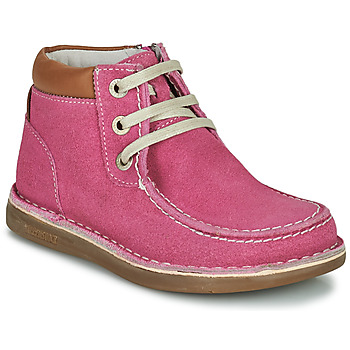 Zapatos Niña Botas de caña baja Birkenstock PASADENA HIGH KIDS Rosa