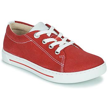 Zapatos Niños Zapatillas bajas Birkenstock ARRAN KIDS Rojo