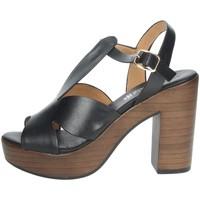 Zapatos Mujer Sandalias Repo 56247-E1 Negro