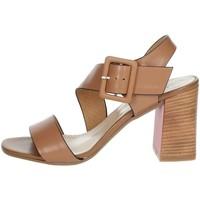 Zapatos Mujer Sandalias Repo 31634-E1 Marrón cuero