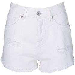 textil Mujer Shorts / Bermudas Aniye By SHORT-DENIM-WHT BIANCO