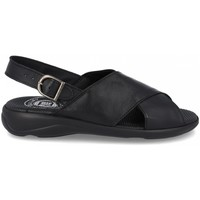 Zapatos Hombre Sandalias Cbp - Conbuenpie Sandalias de hombre de piel by CBP Noir