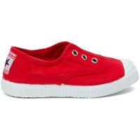 Zapatos Niños Tenis Cienta Chaussures en toiles  Tintado rouge