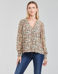 textil Mujer Tops / Blusas Betty London  Negro / Multicolor