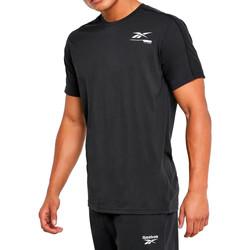 textil Hombre Camisetas manga corta Reebok Sport  Negro