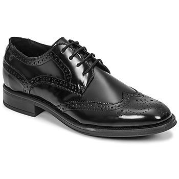 Zapatos Hombre Derbie Carlington LOUVIAN Negro