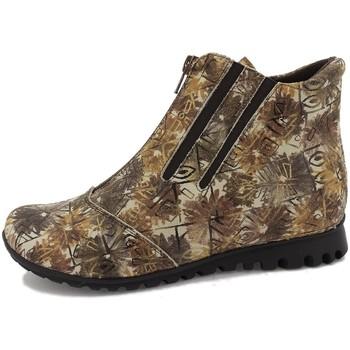 Zapatos Mujer Botines Gasymar 7542 Marrón