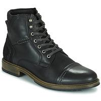 Zapatos Hombre Botas de caña baja Casual Attitude HOKES Negro