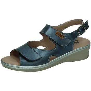 Zapatos Mujer Sandalias 48 Horas Sandalias nacarado AZUL