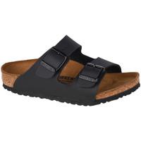 Zapatos Niños Zuecos (Mules) Birkenstock Arizona BF Kids Noir