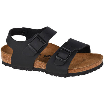 Zapatos Niños Sandalias de deporte Birkenstock New York BF Kids Noir