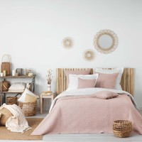 Casa Manta Douceur d intérieur FLORETTE Rosa