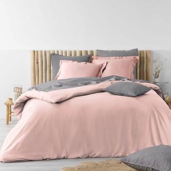 Casa Ropa de cama Douceur d intérieur STONALIA Rosa