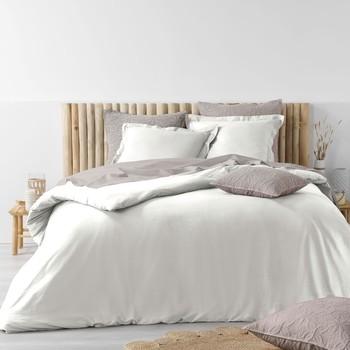 Casa Ropa de cama Douceur d intérieur STONALIA Blanco