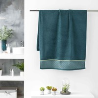Casa Toalla y manopla de toalla Douceur d intérieur BELINA Azul