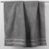 Casa Toalla y manopla de toalla Douceur d intérieur EXCELLENCE Gris