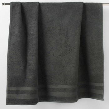 Casa Toalla y manopla de toalla Douceur d intérieur EXCELLENCE Antracita