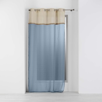 Casa Cortinas transparentes Douceur d intérieur GREENYBEL Azul