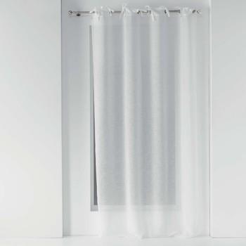 Casa Cortinas transparentes Douceur d intérieur CHARLOTTE Blanco