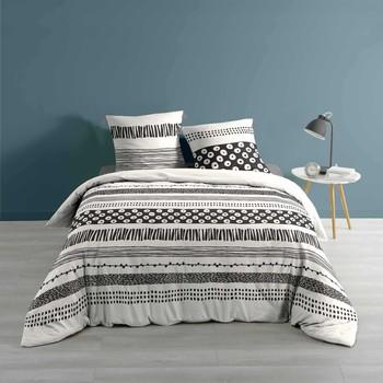 Casa Ropa de cama Douceur d intérieur BLACKY Blanco