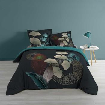 Casa Ropa de cama Douceur d intérieur GINKOBLUE Azul