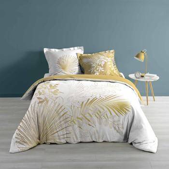 Casa Ropa de cama Douceur d intérieur STRASSY Blanco