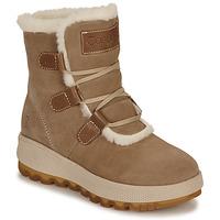 Zapatos Mujer Botas de nieve Casual Attitude NAREIGNE Beige