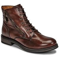 Zapatos Mujer Botas de caña baja Casual Attitude NUNAISE Marrón